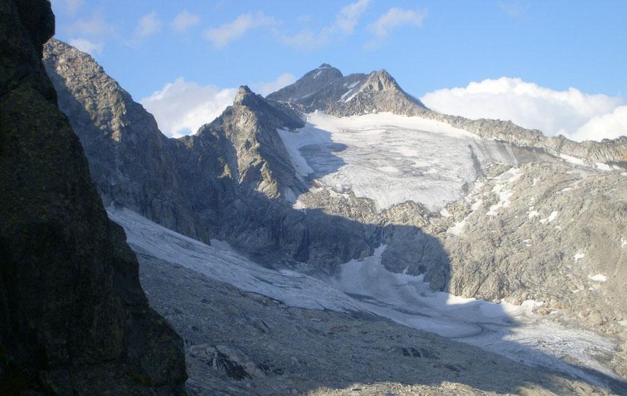 Großer Löffler - Südwestseite aus Sicht des Großen Tors - Bergtour, Zillertaler Alpen, Ahrntal, Südtirol