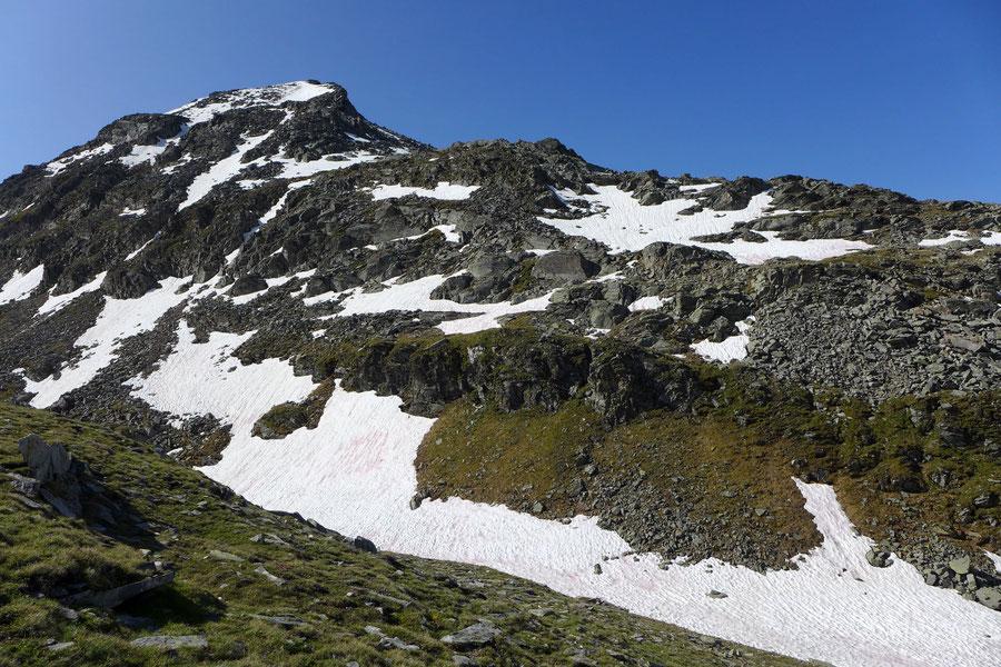 Riedbock - Einstieg in die Route über den Nordgrat - Bergtour, Reißeckgruppe, Mölltal, Kärnten