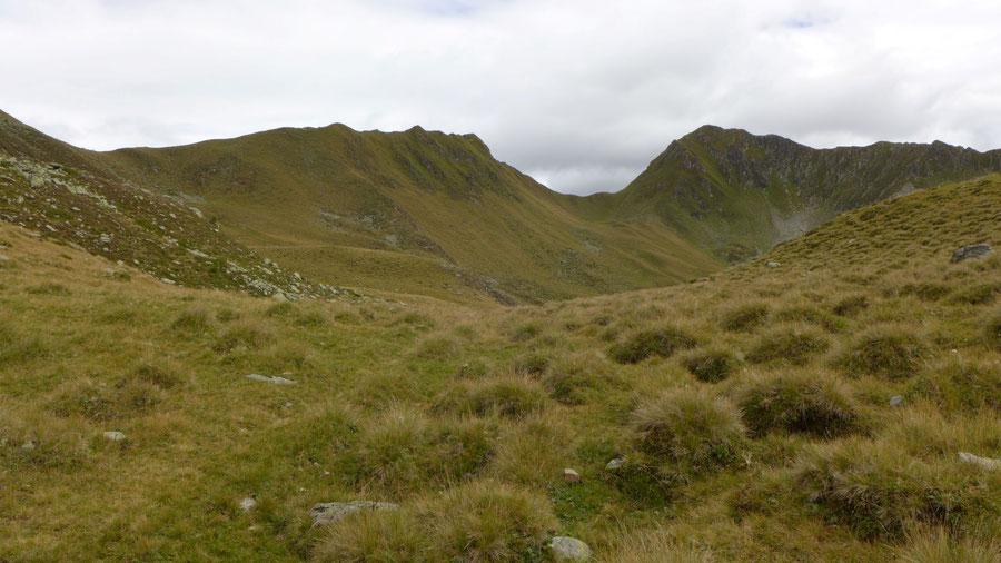 Pfunderer Höhenweg - Hochplateau, Kleines Tor - Wanderung, Pfunderer Berge, Südtirol