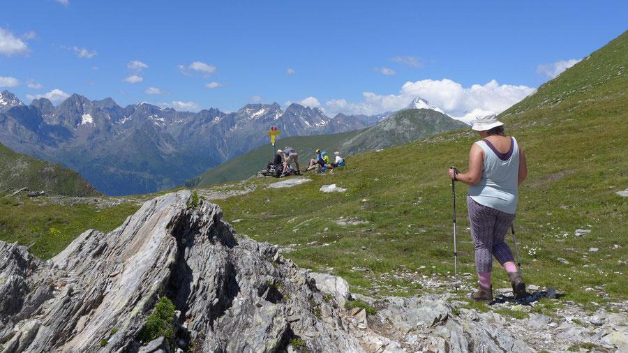 Hoher Sadnig - Sadnigscharte - Bergtour, Fraganter Hütte, Sadnighaus