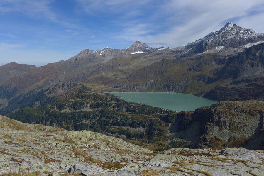 Krefelder Weg - Tauernmoossee und Hocheiser - Rudolfshütte, Krefelder Hütte, Bergtour, Tauern