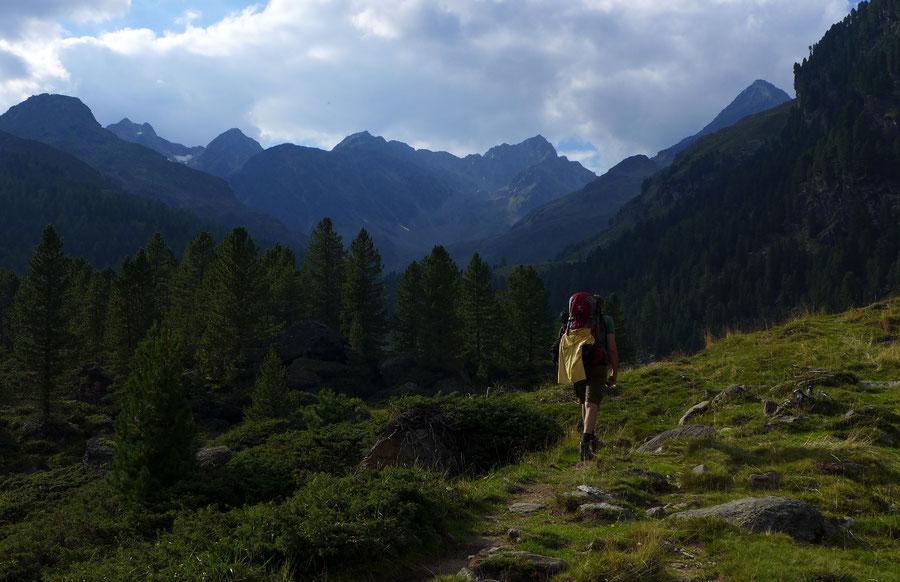Leibnitztörl und Hochschoberhütte - Debanttal Aufstieg - Bergtour, Franz-Keil-Weg, Lienzer Hütte