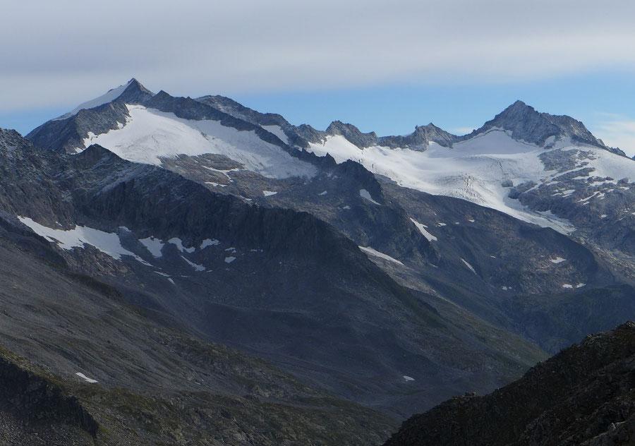 Großer Möseler - Südseite von der Napfspitze - Bergtour, Zillertaler Alpen, Südtirol