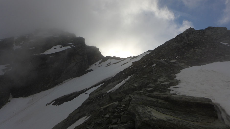 Ankogel - Schneehühner Rufe im Nebel - Bergtour, Normalweg, Hannoverhaus, Ankogelbahn