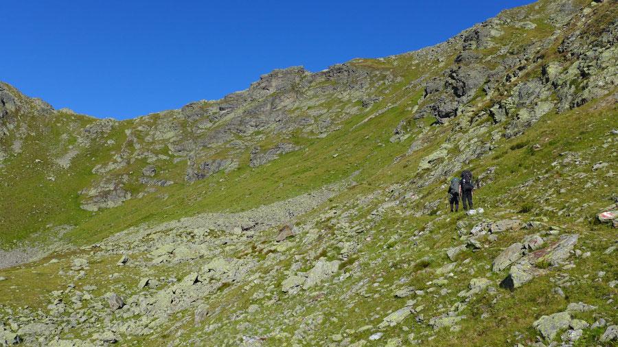 Feldnerhütte - Aufstieg Glenktörl - Wanderung, Kreuzeckgruppe, Kärnten