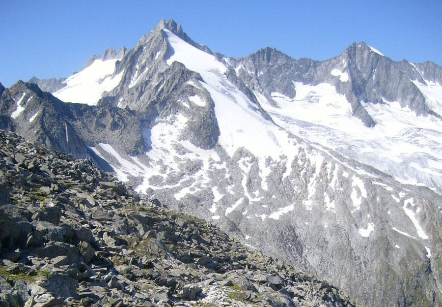 JWD Bergtouren Zillertaler Alpen Reichenspitze von der Rainbachscharte
