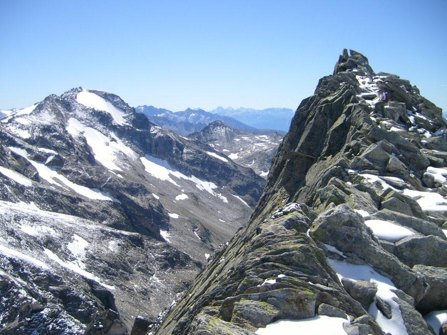 Rosswandspitze - südlicher Vorgipfel - Bergtour, Zillertaler Alpen, Tirol