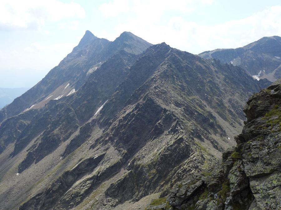 Leibnitzkopf Mirnitzscharte - Mirnitzspitzen - Bergtour, Hochschoberhütte, Lienzer Hütte, Schobergruppe