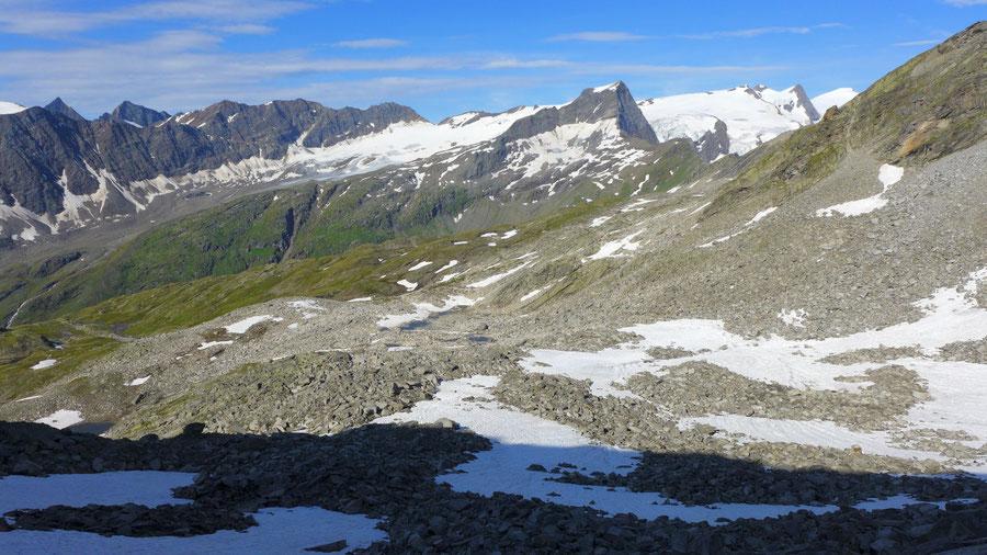 Wildenkogel - Kar am Fuße des Wildenkogels - Bergtour, Badener Hütte, Wildenkogelweg