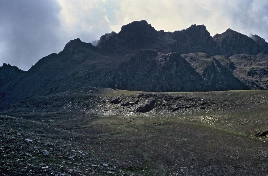 Pfunderer Höhenweg - Joch in der Enge unter Rotwand - Wanderung, Pfunderer Berge, Südtirol