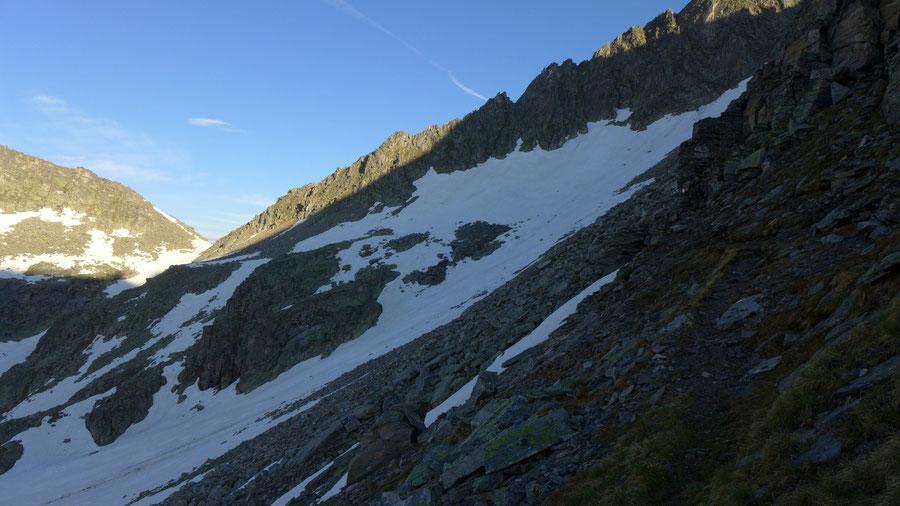 Reißeck Höhenweg - Von der Mooshütte zur Zwenberger Scharte - Bergtour, Reißeckgruppe, Kärnten