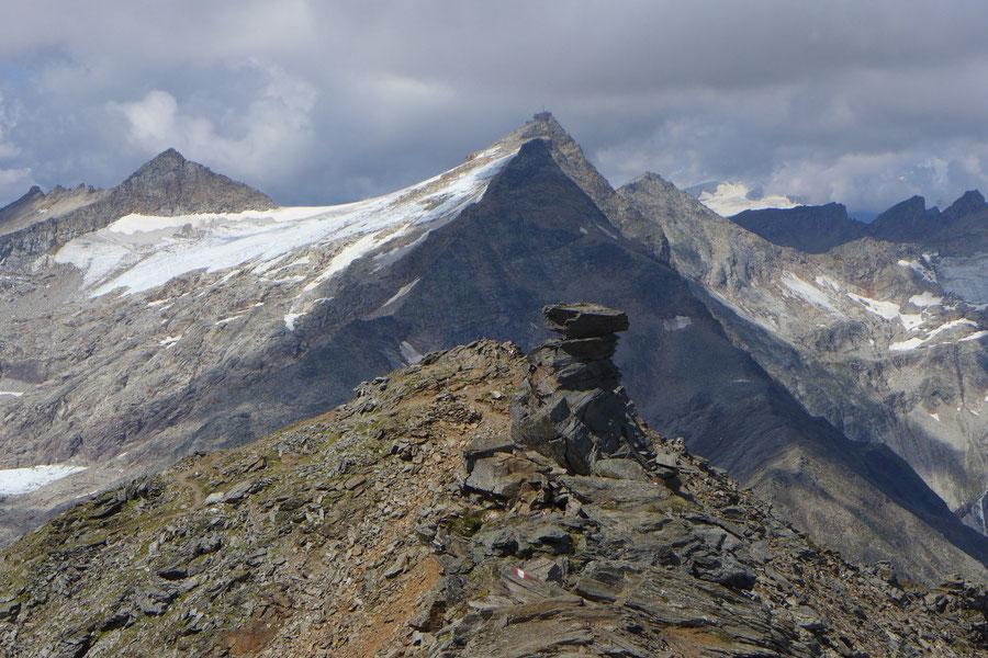 JWD Bergtouren Goldberggruppe Hoher Sonnblick von Osten