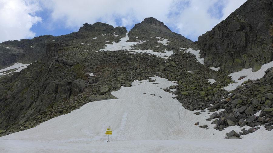 Reißeck Höhenweg - Hohe Leier über Rossalmscharte - Bergtour, Reißeckgruppe, Kärnten