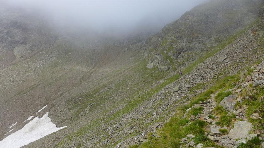 Polinik - Mörnigtal im Nebel - Normalweg, Bergtour, Kreuzeckgruppe, Kärnten