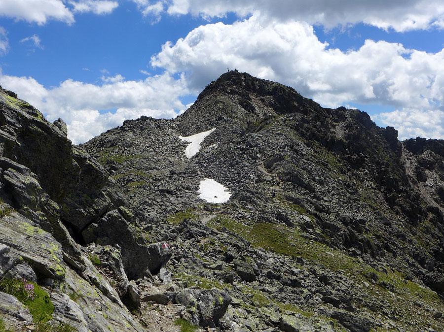 Hoher Sadnig - Gipfel mit leichter Kletterstelle - Bergtour, Fraganter Hütte, Sadnighaus, Sadnigscharte