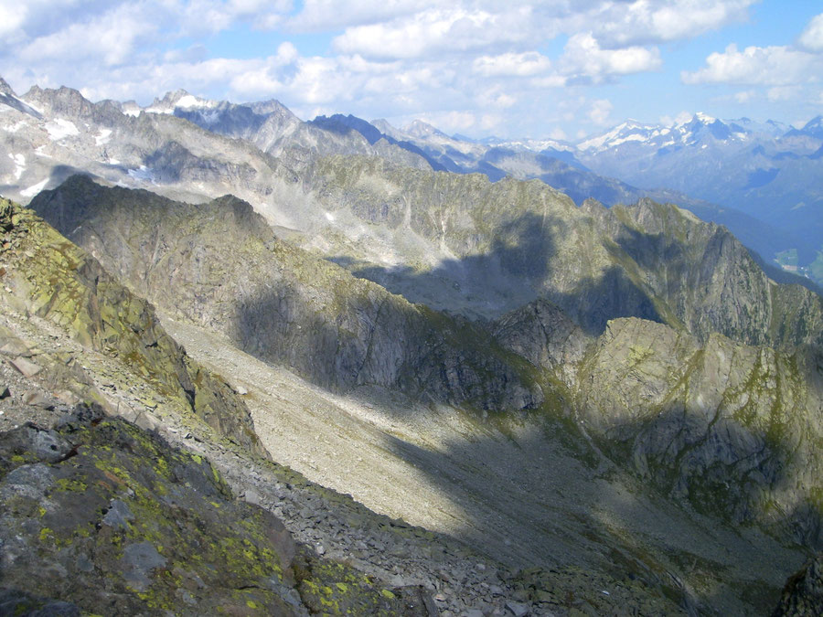 Stabeler Höhenweg - Törler Zwilcher oder Zu Törla - Bergtour, Zillertaler Alpen, Südtirol