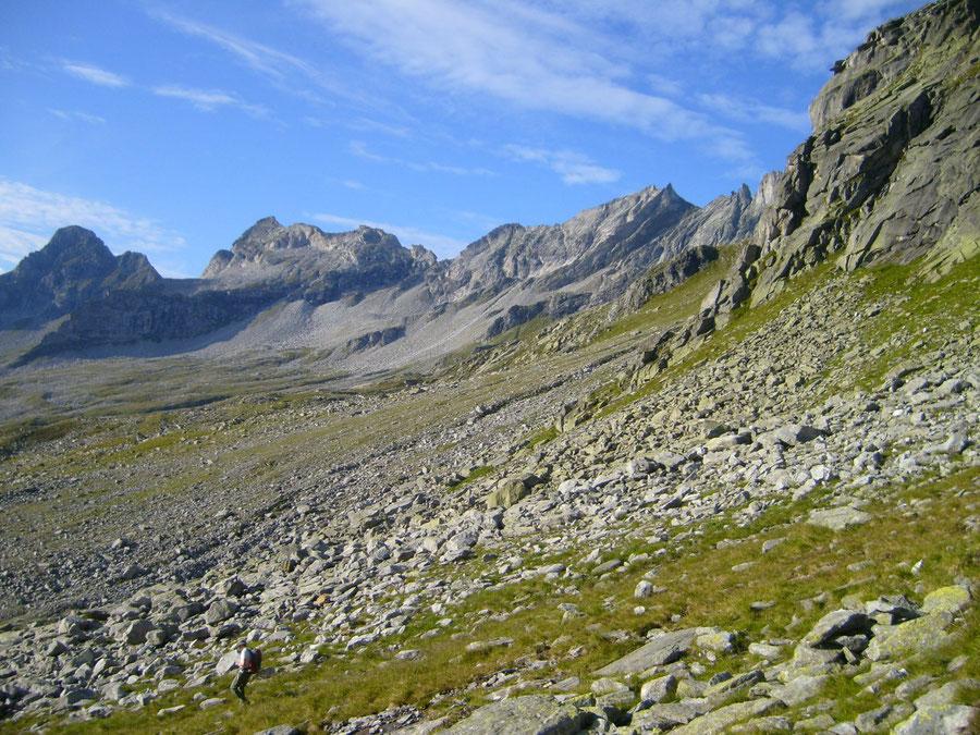 Rosswandspitze - unmarkierte, weglose Westflanke - Bergtour, Zillertaler Alpen, Tirol