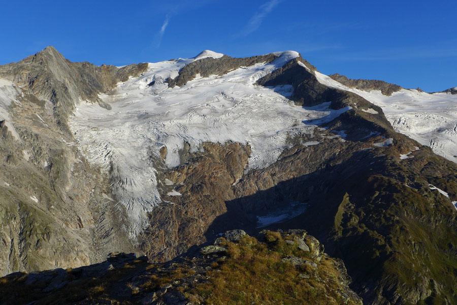 Nördliche Malhamspitze - Bergtour, Ostgrat, Essener-Rostocker-Hütte - Rostocker Eck, Simonyspitzen