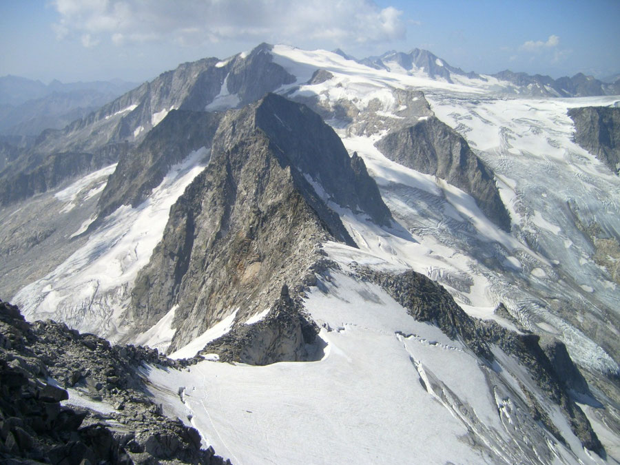 Großer Löffler - Trippachscharte, Floitenkees und Schwarzenstein - Bergtour, Zillertaler Alpen, Ahrntal, Südtirol