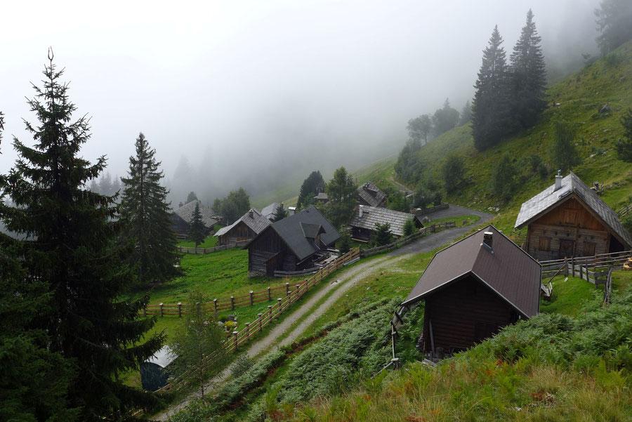 Mernikalm - Mösernhütte Kälberhüttl - Wanderung, Kreuzeckbahn, Kärnten