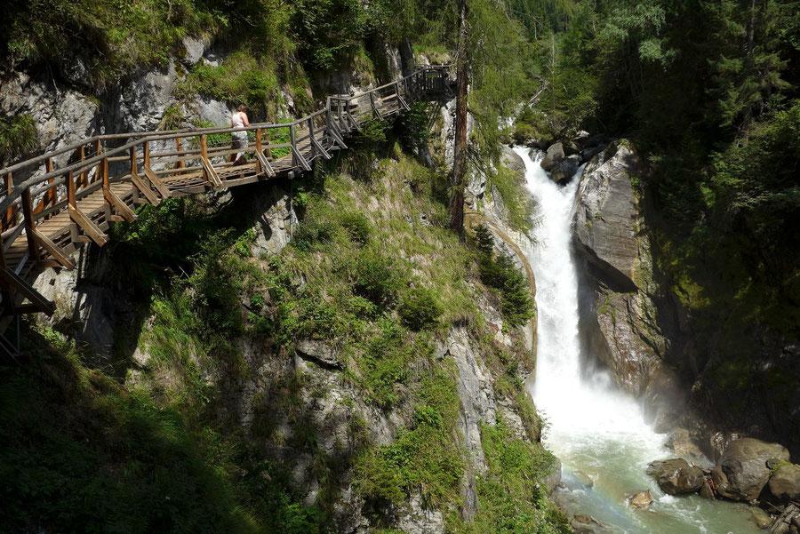 Groppensteinschlucht - Zechnerfall - Wanderung, Obervellach, Mölltal, Kärnten