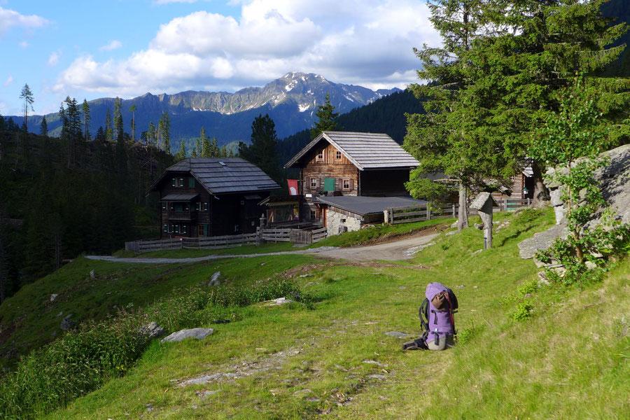 Riedbock - Zandlacher Hütte mit Riekenalm - Bergtour, Reißeckgruppe, Mölltal, Kärnten