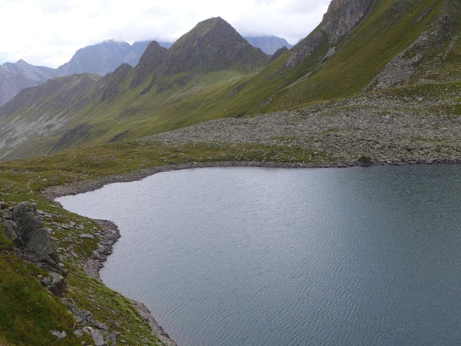 Pfunderer Höhenweg - Valsscharte und Eisbruggsee - Wanderung, Pfunderer Berge, Südtirol