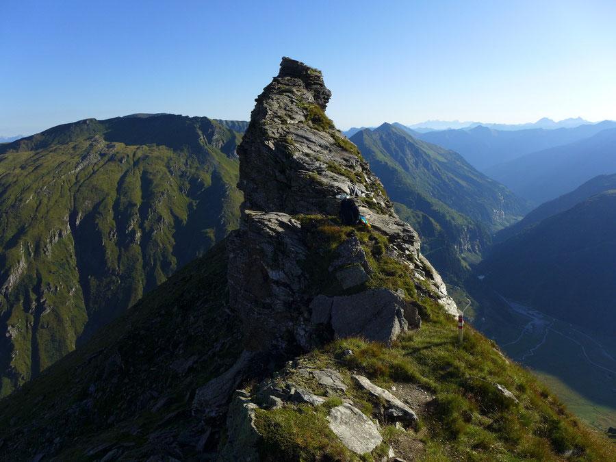 Schareck Neuwirtsteig - Scharte am Nordostgrat - Bergtour, Klettersteig, Sportgastein