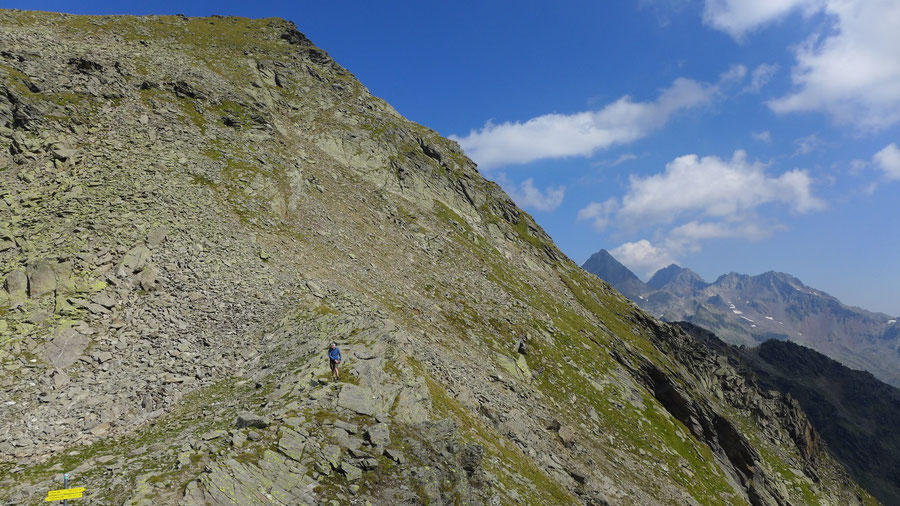 Leibnitzkopf - Mirnitzscharte - Bergtour, Hochschoberhütte, Lienzer Hütte, Schobergruppe
