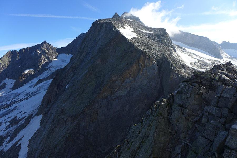 Hochalmspitze - Lassacher Winkelscharte -  Bergtour, Detmolder Grat, Steinerne Mandln