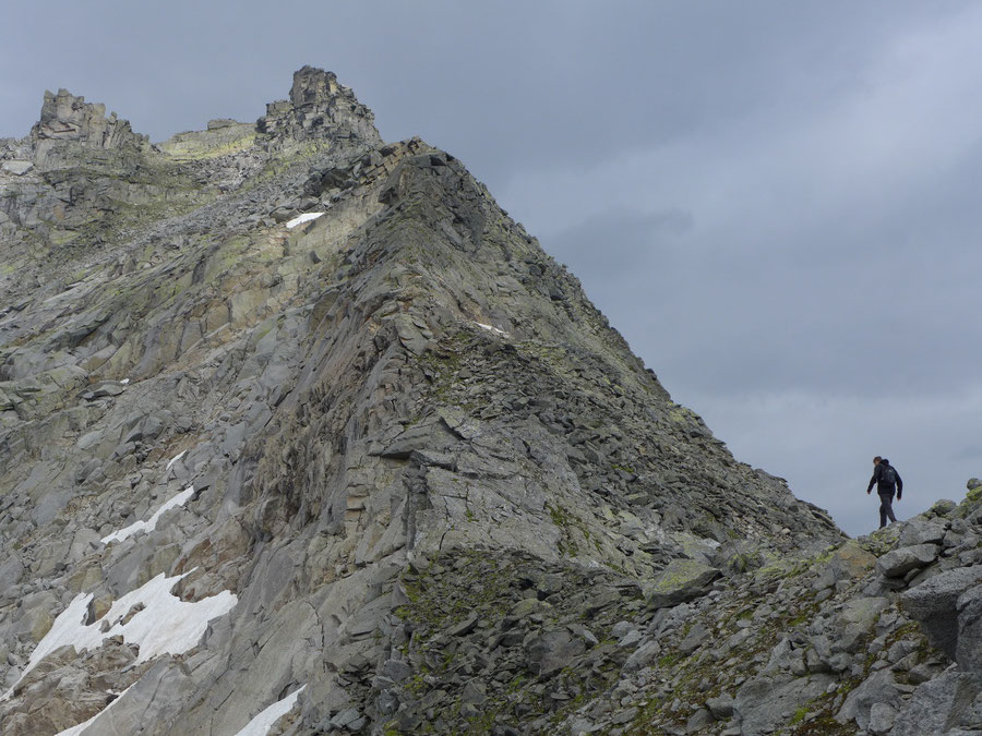 Großer Landeckkopf - Südostgrat Versuch - Bergtour, Granatspitzgruppe, Osttirol