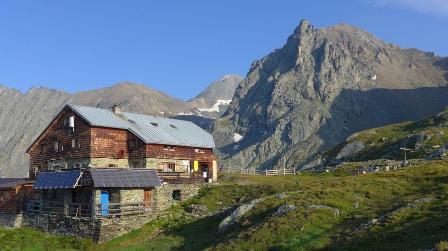 Hoher Eichham - Bonn-Matreier-Hütte vor dem Säulkopf - Bergtour, Virgental, Osttirol