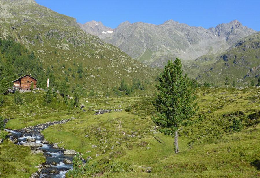 Leibnitztörl und Hochschoberhütte - Lienzer Hütte - Bergtour, Franz-Keil-Weg