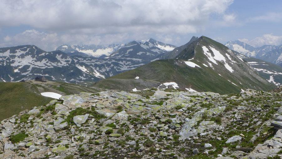 Vorderer Geiselkopf - Mallnitzer Tauern, Hagener Hütte - Bergtour, Nordostgrat