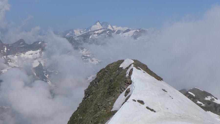 Vorderer Geiselkopf - Panorama vom Gipfel - Bergtour, Nordostgrat, Hagener Hütte