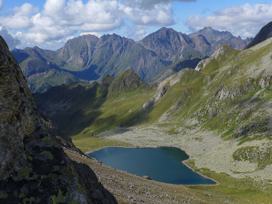 JWD Bergtouren Pfunderer Berge Eisbruggsee und Wilde Kreuzspitze
