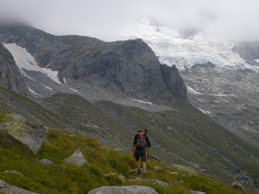Lapenscharte - Löfflerkees - Kasseler Hütte, Greizer Hütte - Wanderung, Bergtour, Zillertaler Alpen