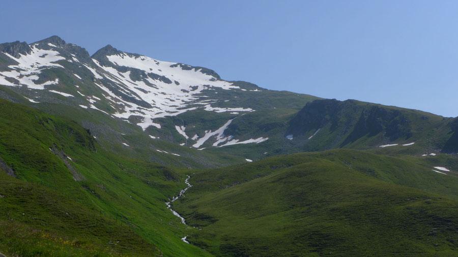 Vorderer Geiselkopf - Bergtour, Nordostgrat, Hagener Hütte - Romatenspitz