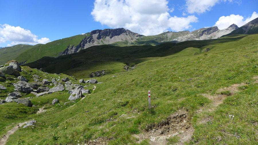Hoher Sadnig - Schobertörl - Bergtour, Fraganter Hütte, Sadnighaus, Sadnigscharte