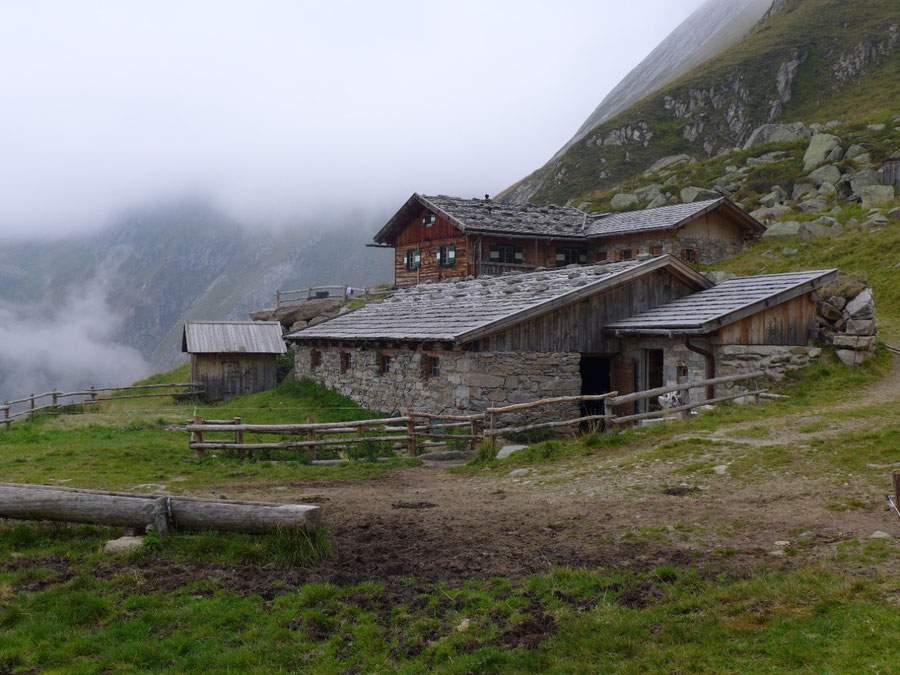 Pfunderer Höhenweg - Valsalm - Wanderung, Pfunderer Berge, Südtirol