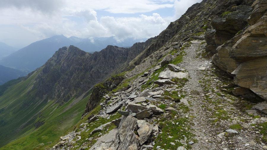 Sadnig-Höhenweg - Melenwände, Band - Bergtour, Mölltaler Gletscher, Fraganter Hütte, Kärnten