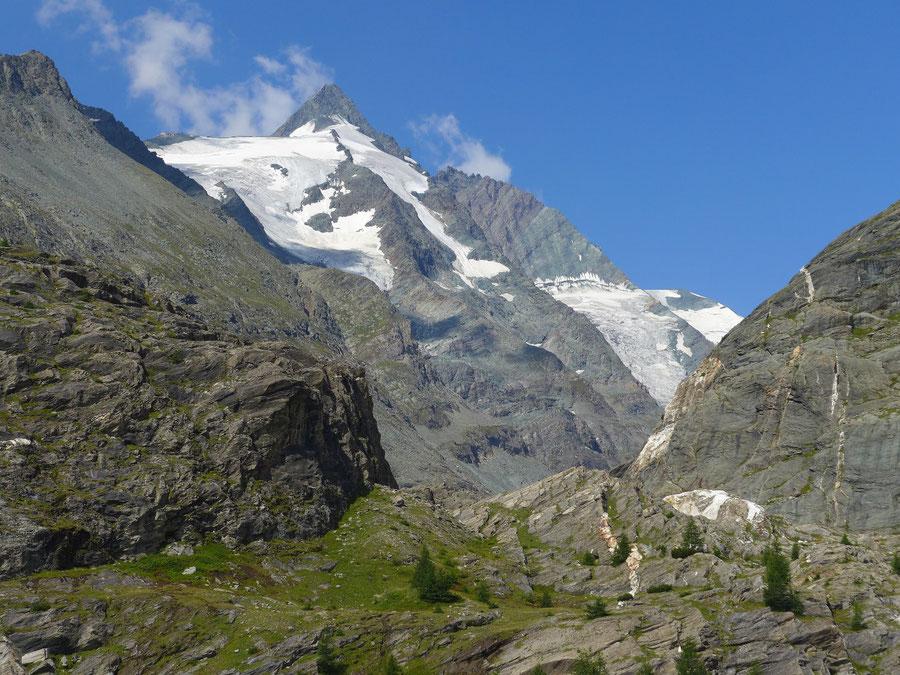JWD Bergtouren Glocknergruppe Großglockner über der Margaritzensperre