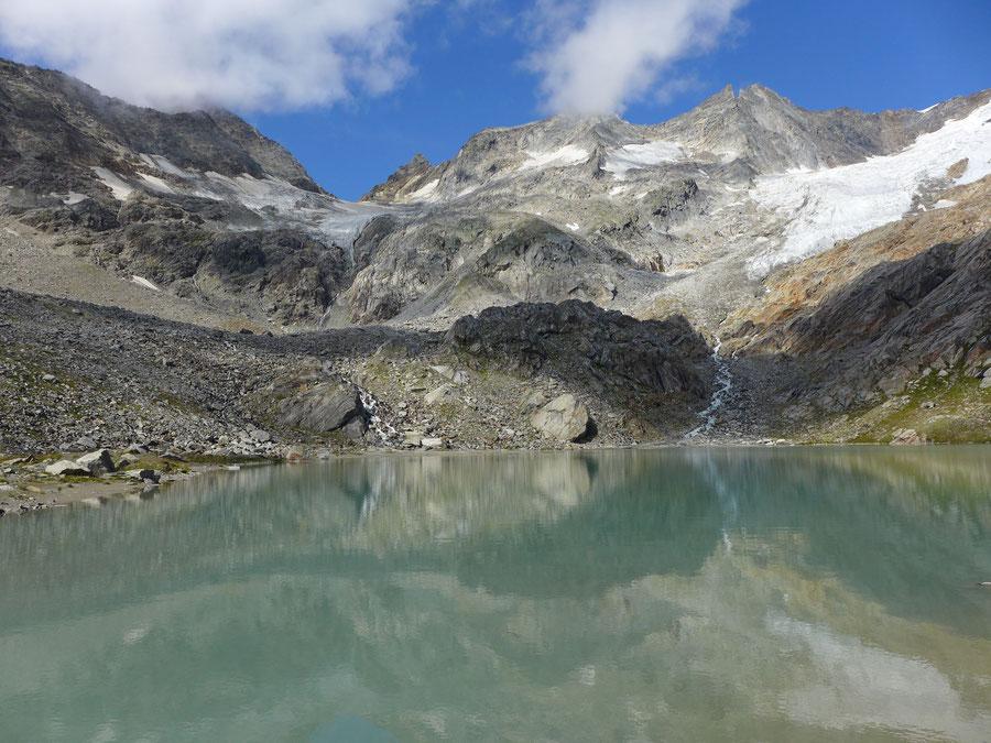 Simonysee - Wanderung, Essener-Rostocker-Hütte, Venedigergruppe - Gletscherzungen