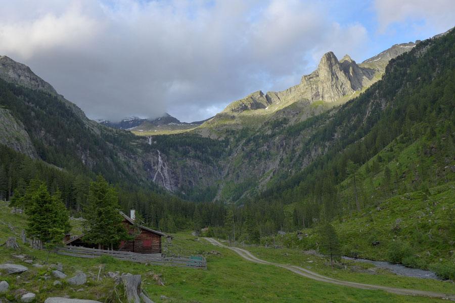 Riedbock - Grübelwand über dem Riekental - Bergtour, Reißeckgruppe, Mölltal, Kärnten
