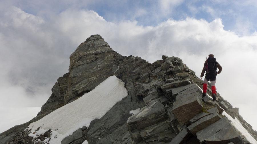Ankogel - Gipfelgrat - Bergtour, Normalweg, Hannoverhaus, Ankogelbahn