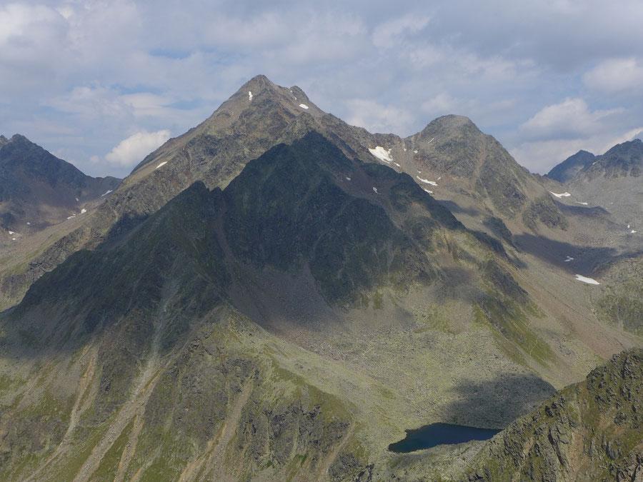 Leibnitzkopf Mirnitzscharte - Hochschober - Bergtour, Hochschoberhütte, Lienzer Hütte, Schobergruppe