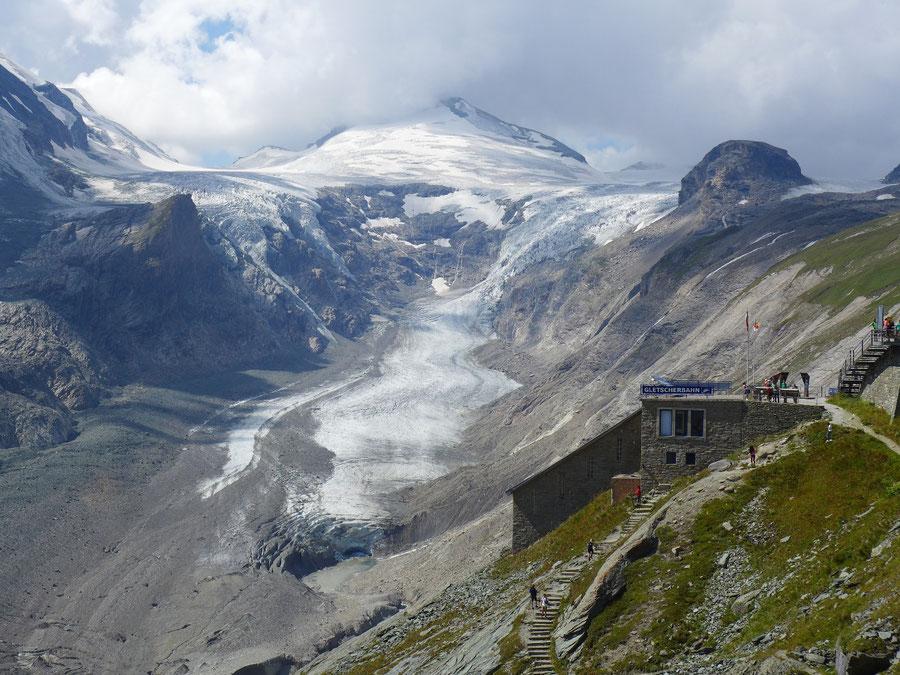 Gletscherlehrweg Pasterze - Gletscherbahn Kaiser-Franz-Josefs-Höhe - Wanderung, Großglockner Hochalpenstraße