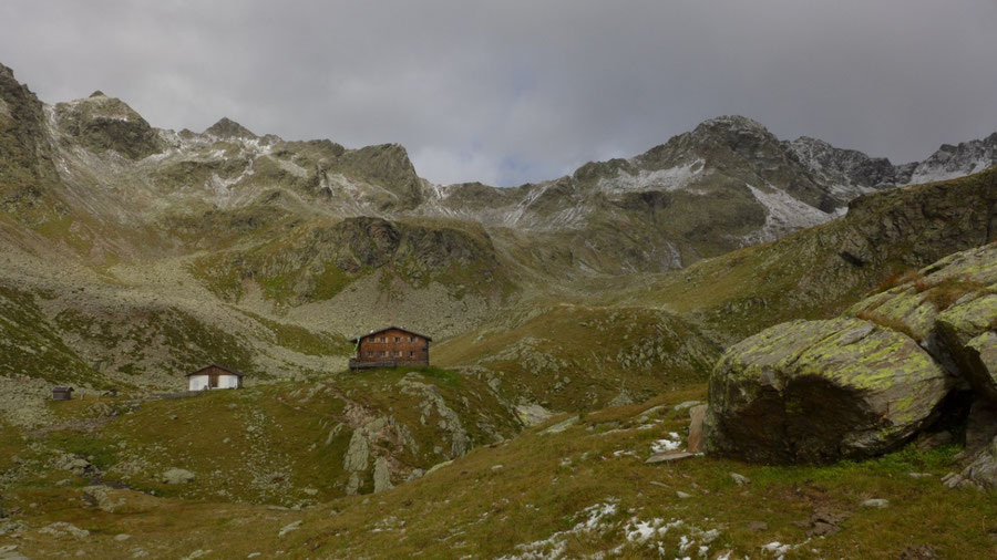 Pfunderer Höhenweg - Tiefrastenhütte vor Hochsägescharte - Wanderung, Pfunderer Berge, Südtirol