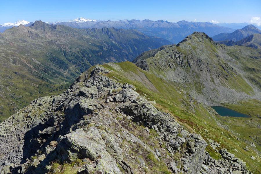 JWD Bergtouren Kreuzeckgruppe Dechant Westgrat vom Kreuzeck Ostgrat
