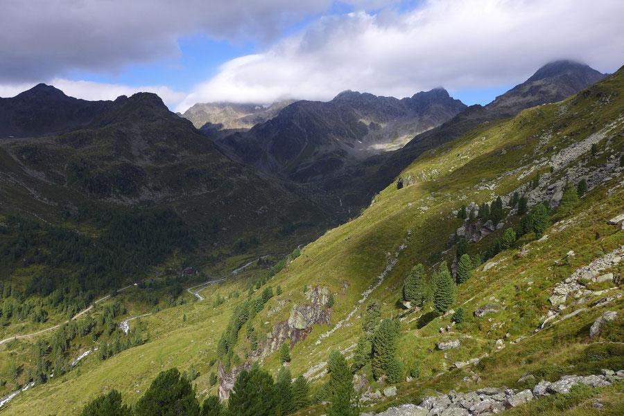 JWD Bergtouren Schobergruppe Wanderrung von der Lienzer Hütte zur Wangenitzseehütte